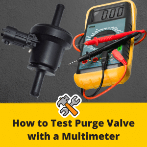 How to test purge valve with multimeter