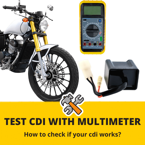 how to test cdi with a multimeter