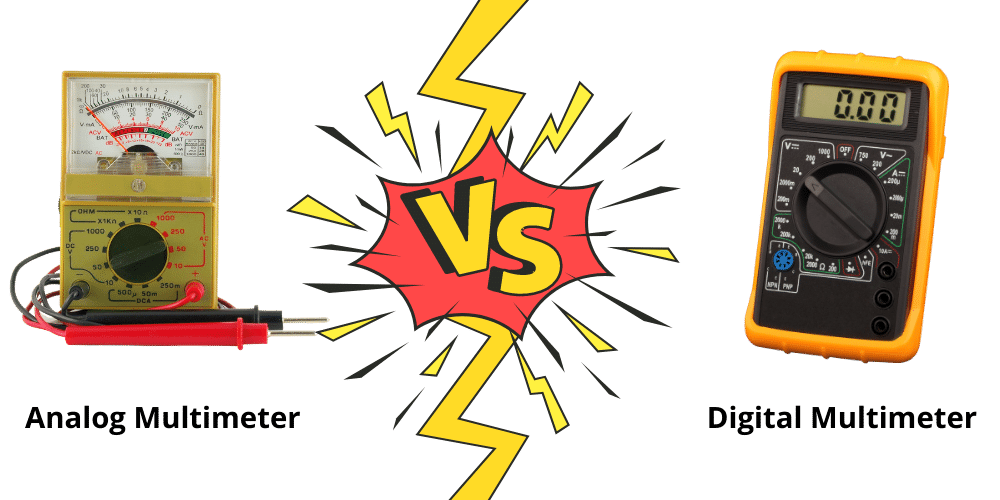 analog vs digital multimeter