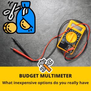 best budget multimeter