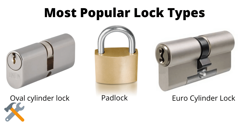 How to drill into a lock