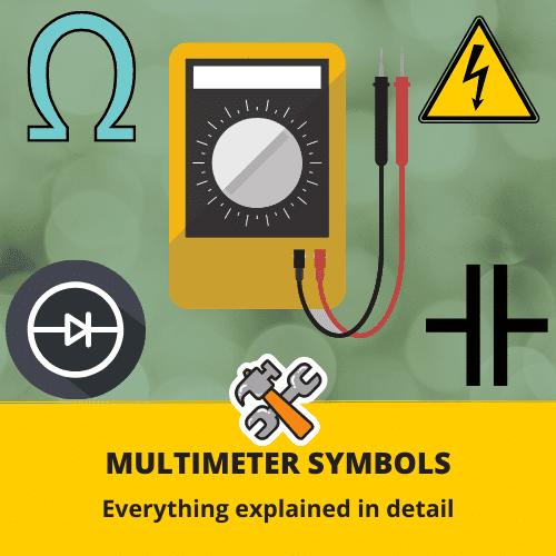 Multimeter Symbols
