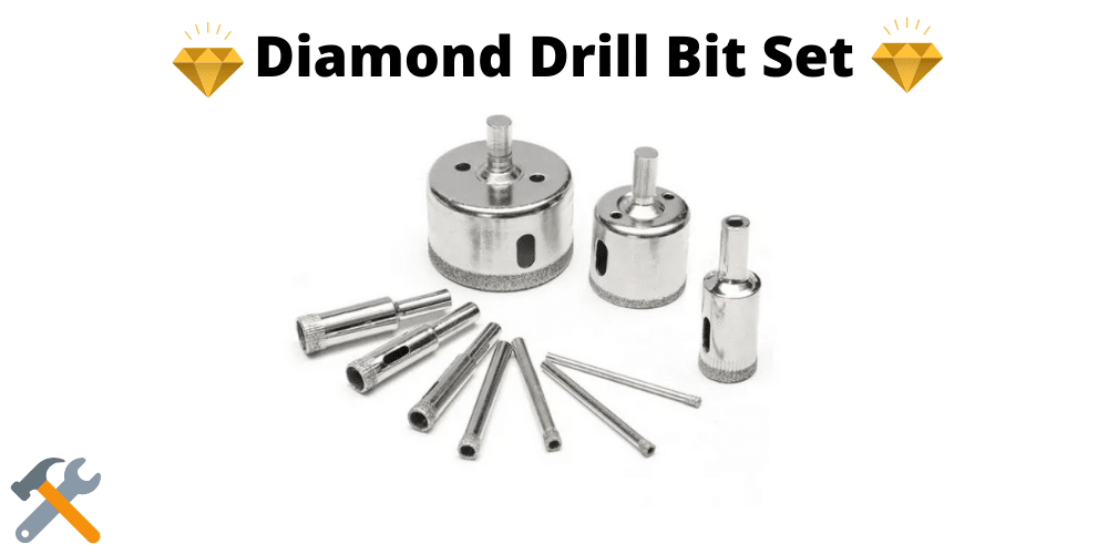 diamond drill bit set